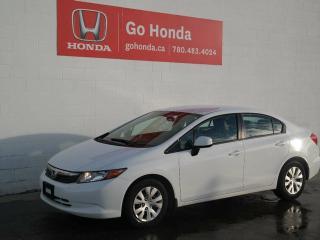 Used 2012 Honda Civic LX, AUTO, SEDAN for sale in Edmonton, AB