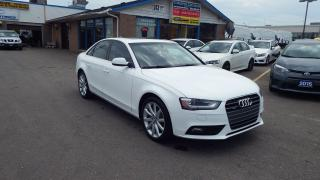Used 2014 Audi A4 Komfort/NO ACCIDENT/BLUETOOTH/LEATHER/$18999 for sale in Brampton, ON