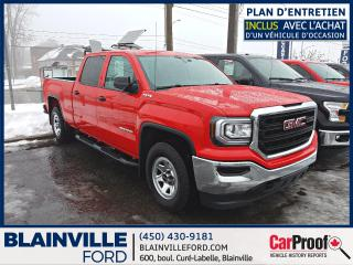 Used 2016 GMC Sierra 1500 Cabine multiplace 4RM 143,5 po for sale in Blainville, QC