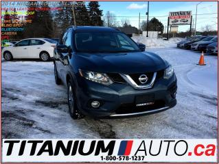 Used 2014 Nissan Rogue SL-Tech+AWD+GPS+360 Camera+Pano+Blind Spot & Lane+ for sale in London, ON