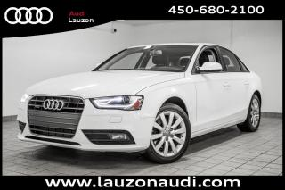 Used 2013 Audi A4 Toit Cuir Mags Xenon for sale in Laval, QC