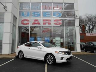 Used 2013 Honda Accord EX-L w/Navi MAN HEATED LEATHER for sale in Halifax, NS