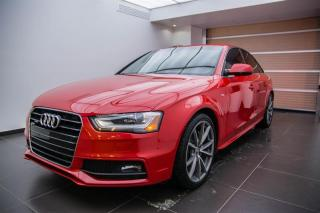 Used 2015 Audi A4 Technik plus for sale in Sherbrooke, QC