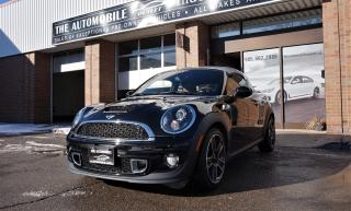 Used 2012 MINI Cooper S ONLY 50,000 kms COUPE S MANUAL LEATHER NO ACCIDENT for sale in Mississauga, ON