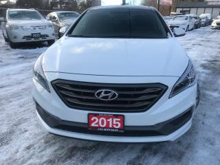 Used 2015 Hyundai Sonata SPORT/BACKUP CAMERA/PANORAMA ROOF/NO ACCIDENT for sale in Brampton, ON
