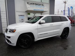 Used 2015 Jeep Grand Cherokee Overland 4WD, DIESEL, Nav, Pano Sunroof for sale in Langley, BC
