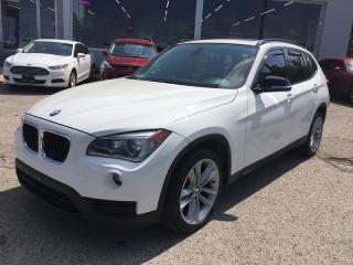 Used 2014 BMW X1 AWD * Leather * NAV * Pano Roof * Rear Parking Sensor for sale in London, ON