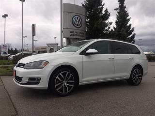Used 2016 Volkswagen Golf Sportwagon 1.8T Comfortline 5sp for sale in Surrey, BC