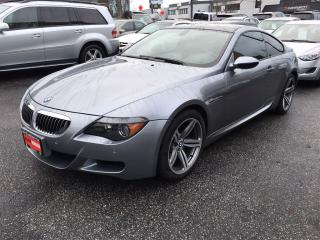 Used 2007 BMW M6 Coquitlam for sale in Langley, BC