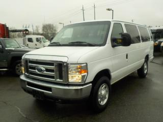 Used 2012 Ford Econoline E-350 Super Duty Extended 15 Passenger Van for sale in Burnaby, BC