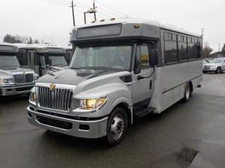 Used 2013 International 3000 22 Passenger Bus Diesel with Wheelchair Accessibilty for sale in Burnaby, BC