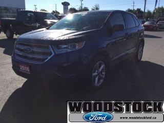 Used 2016 Ford Edge SE Sync, Local Trade for sale in Woodstock, ON