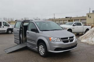 Used 2016 Dodge Grand Caravan Mobility - Side Entry, Manual In Floor Ramp for sale in London, ON