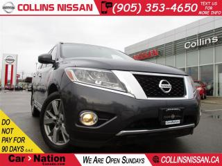 Used 2014 Nissan Pathfinder Platinum Premium | NAVI | LEATHER | DUAL DVD'S for sale in St Catharines, ON