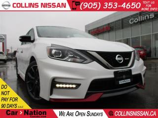 Used 2017 Nissan Sentra 1.6 NISMO PKG | 6 SPD | ALLOYS  | WHY BUY NEW for sale in St Catharines, ON