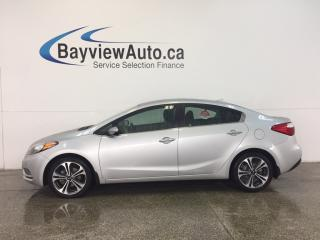 Used 2016 Kia Forte EX- ALLOYS|HTD STS|ECO MODE|REV CAM|BLUETOOTH! for sale in Belleville, ON
