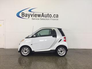 Used 2013 Smart fortwo - KEYLESS ENTRY|A/C|BLUETOOTH|LOW KM'S! for sale in Belleville, ON