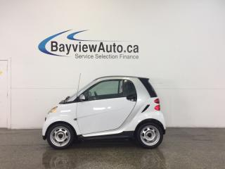Used 2013 Smart fortwo - KEYLESS ENTRY|A/C|BLUETOOTH|LOW KM! for sale in Belleville, ON