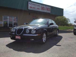 Used 2003 Jaguar S-Type 3.0L V6 AS IS for sale in Bolton, ON