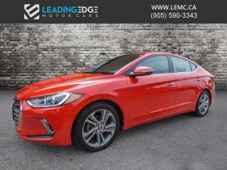 Used 2017 Hyundai Elantra Limited Navigation, Leather, Sunroof for sale in King, ON