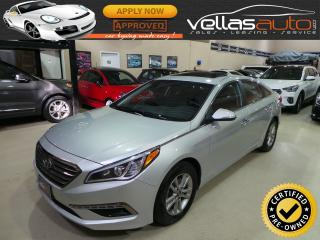 Used 2017 Hyundai Sonata GLS| SUNROOF| R/CAMERA| BLUETOOTH for sale in Woodbridge, ON