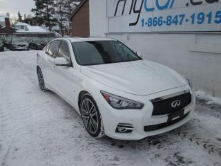 Used 2015 Infiniti Q50 Base for sale in Richmond, ON