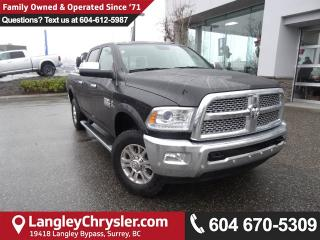 Used 2017 Dodge Ram 3500 Laramie *ACCIDENT FREE*ONE OWNER*LOCAL BC TRUCK* for sale in Surrey, BC