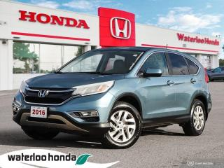 Used 2016 Honda CR-V EX-L for sale in Waterloo, ON