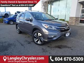Used 2016 Honda CR-V Touring for sale in Surrey, BC