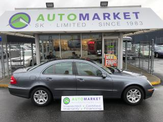 Used 2005 Mercedes-Benz E320 E320 NAVIGATION! FINANCE IT! for sale in Langley, BC