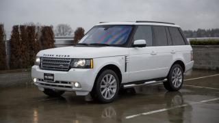 Used 2012 Land Rover Range Rover Supercharged (SC) W/ REAR DVDs for sale in Vancouver, BC