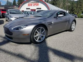 Used 2007 Aston Martin V8 Vantage for sale in Quesnel, BC