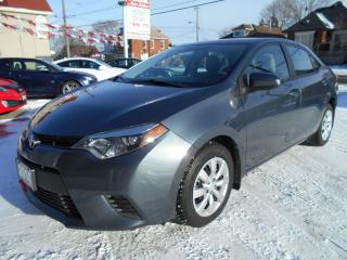 Used 2014 Toyota Corolla LE/HEATED SEATS/BACK-UP CAMERA for sale in Guelph, ON