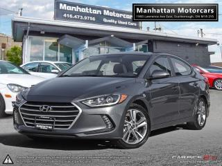 Used 2017 Hyundai Elantra GLS |AUTO|FAC.WARRANTY|ROOF|ALLOY|19000KM for sale in Scarborough, ON