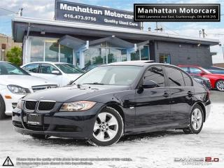 Used 2006 BMW 3 Series 323i PREMIUM PACKAGE - LEATHER|ROOF|PHONE|6 SPEED for sale in Scarborough, ON