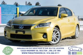 Used 2011 Lexus CT 200h CT200H NAVI BLUETOOTH BACK UP CAM DVD SUNROOF for sale in Caledon, ON