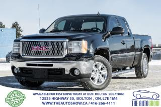 Used 2011 GMC Sierra 1500 SLT 4X4 BLUETOOTH LEATHER 5.3LIT ENGINE for sale in Caledon, ON