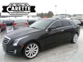 Used 2014 Cadillac ATS 4 Premium Awd Cuir for sale in East Broughton, QC