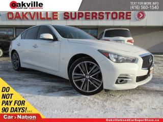 Used 2015 Infiniti Q50 3.7 LIMITED SPORT | AWD | LEATHER | NAVI | B/U CAM for sale in Oakville, ON
