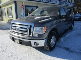 Used 2010 Ford F-150 WORK READY XLT MODEL 6 PASSENGER 5.4L - V8.. REAR-WHEEL.. EXT-CAB.. 8-FOOT BOX.. SYNC TECHNOLOGY.. KEYLESS ENTRY.. for sale in Bradford, ON