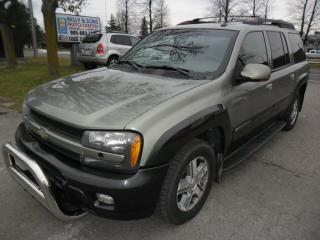 Used 2004 Chevrolet TrailBlazer 7 Seater 8CYL. THE NORTH FACE edition for sale in Ajax, ON