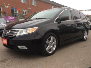 Used 2011 Honda Odyssey Touring/Nav/Bluetooth/Bk-up Cam/8 Pass MINT for sale in Scarborough, ON