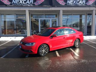 Used 2014 Volkswagen Jetta 1.8 TSI HIGHLINE 5 SPEED LEATHER SUNROOF 118K for sale in North York, ON