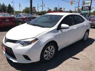 Used 2014 Toyota Corolla LE l Backup Cam l Bluetooth l No Accidents for sale in Waterloo, ON