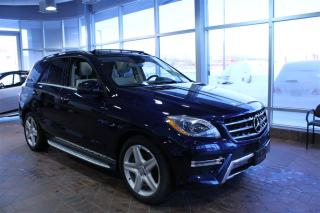 Used 2015 Mercedes-Benz ML-Class Ml350bt Awd, Toit for sale in Quebec, QC