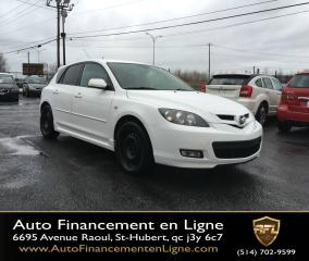 Used 2008 Mazda MAZDA3 **AIR/EDIT.SPORT** for sale in Saint-hubert, QC