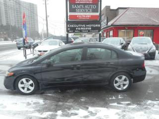 Used 2008 Honda Civic EX for sale in Scarborough, ON