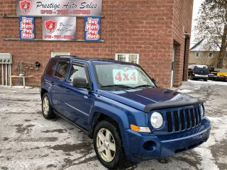 Used 2010 Jeep Patriot North/4X4/NO ACCIDENT/CERTIFIED/WARRANTY INCLUDED for sale in Cambridge, ON