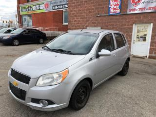 Used 2009 Chevrolet Aveo ONE OWNER/NO ACCIDENT/CERTIFIED/WARRANTY INCL for sale in Cambridge, ON