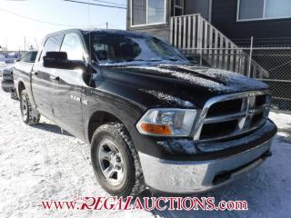 Used 2010 Dodge RAM 1500  CREW CAB for sale in Calgary, AB